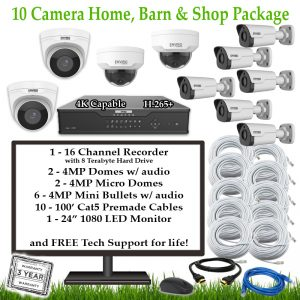 10CamFarmHomeBarnShop 1 300x300 - 10 Camera Home, Barn & Shop Package