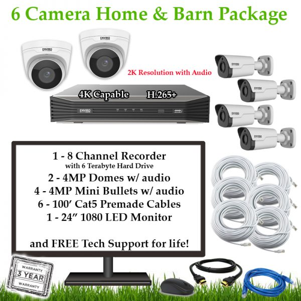 6CamFarmHomeBarn 1 600x600 - 6 Camera Home & Barn Package